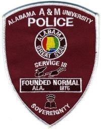 AL,Alabama A & M University Police001