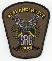 AL,Alexander City Police SRG001