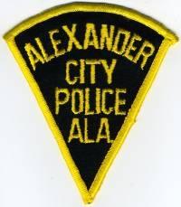AL,Alexander City Police001