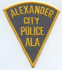 AL,Alexander City Police003