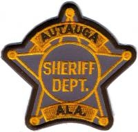 TRADE,AL,Autauga County Sheriff001