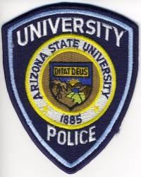 AZ,Arizona State University Police002