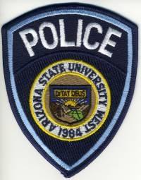 AZ,Arizona State University West Police001