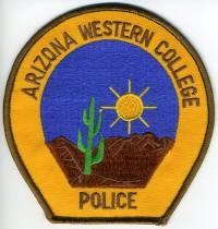 AZ,Arizona Western College Police001