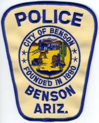 AZ,Benson Police001