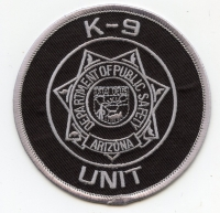 AZ,AA,Dept of Public Safety K-9001