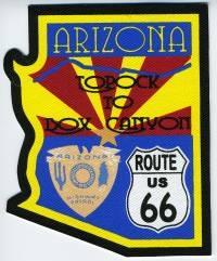 AZ,AA,Hwy Patrol Route 66001