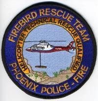 TRADE,AZ,Phoenix Police Firebird