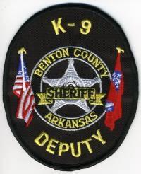 AR,A,Benton County Sheriff K-9004