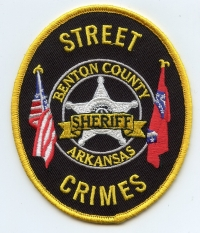 AR,A,Benton County Sheriff STREET CRIMES001