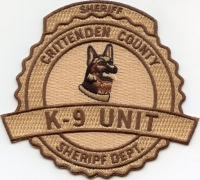 AR,A,Crittenden County Sheriff K-9001