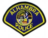 CA,Alhambra Police001
