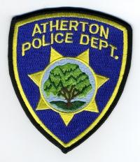 CA,Atherton Police001