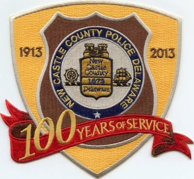 DE New Castle County Police 100 Year Anniversary001