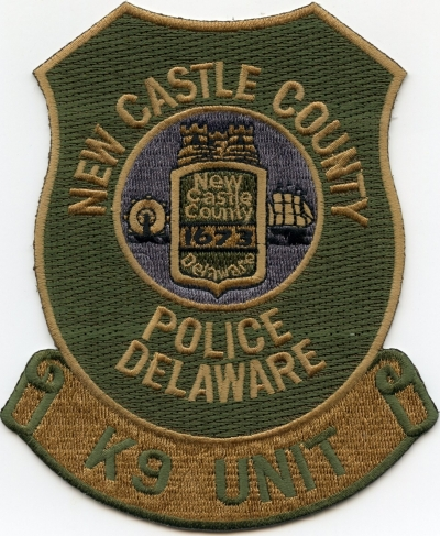 DE New Castle County Police K-9001