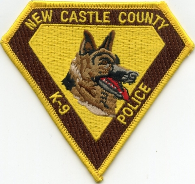DE New Castle County Police K-9002