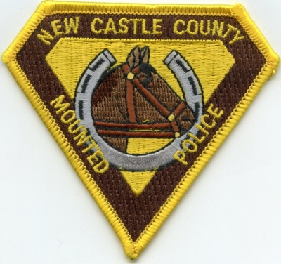 DE New Castle County Police Mounted Patrol001