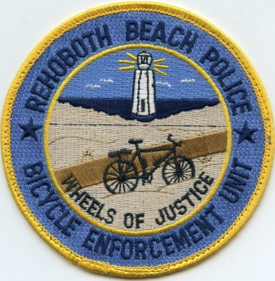 DE Rehoboth Beach Police Bike Unit001