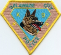 DE Delaware City Police K-9001