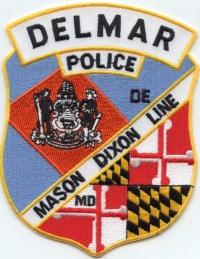 DE Delmar Police001