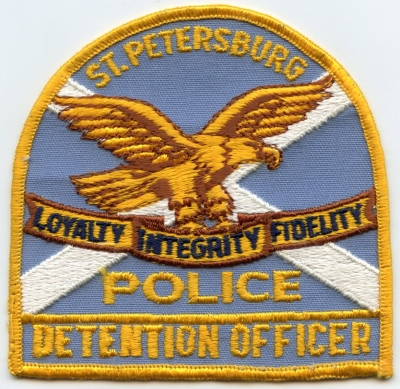 FL,Saint Petersburg Police Detention Officer001