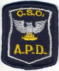GA,ATLANTA CSO (Community Service Officer)001