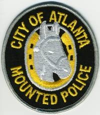 GA,ATLANTA Mounted Police001