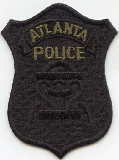 GA,Atlanta Red Dog APEX Badge Patch001