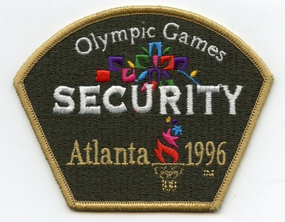 GA,Atlanta z Olympic Games Security001