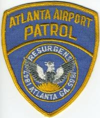 GA,ATLANTA Airport Patrol001