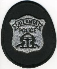 GA,ATLANTA Badge Patch (officer)001