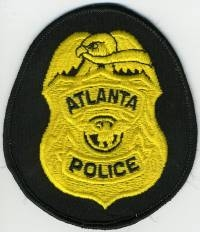 GA,ATLANTA Badge Patch (supervisor)001