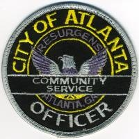 GA,ATLANTA Community Service Officer001