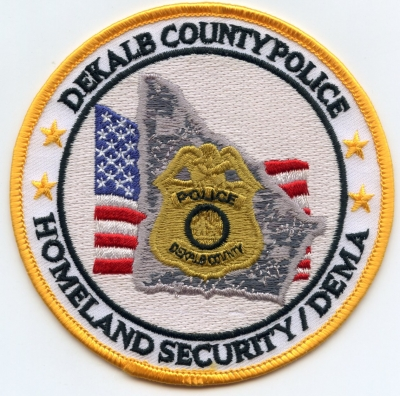 GA,Dekalb County Police Homeland Security001