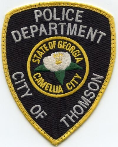 GA,Thomson Police003