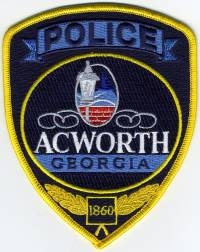 GA,Acworth Police003
