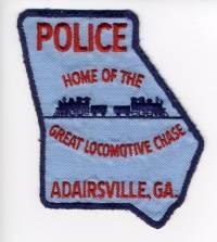 GA,Adairsville Police001