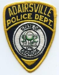 GA,Adairsville Police003