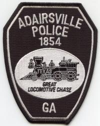 GA,Adairsville Police004