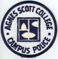 GA,Agnes Scott College Campus Police001