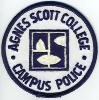 GA,Agnes Scott College Campus Police001