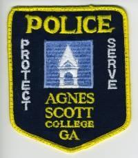GA,Agnes Scott College Police001