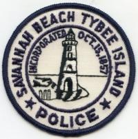 GA,Savannah Beach Tybee Island Police002