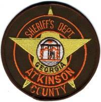 GA,A,Atkinson County Sheriff001