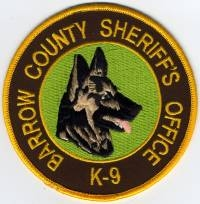 GA,A,Barrow County Sheriff K-9001