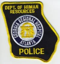 GA,AA,Dept of Human Resources Georgia Regional Hospital Police001