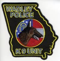 TRADE,GA,Wadley Police K-9
