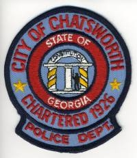 TRADE,GA,Chatsworth Police