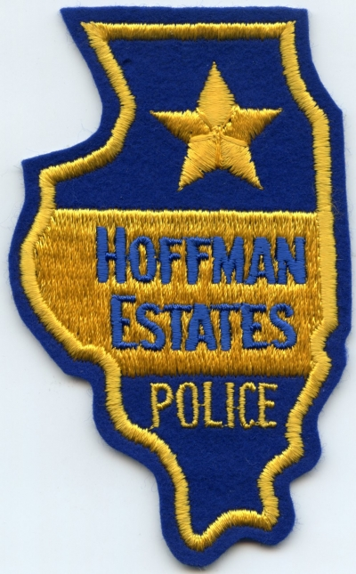 IL,Hoffman Estates Police felt001