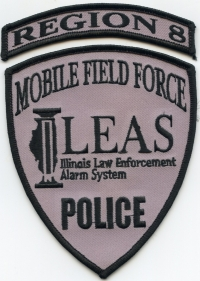 IL Illinois Law Enforcement Alarm System Police Region 8001